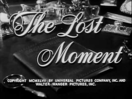 the lost moment title