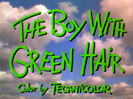 the boy with green hair 2