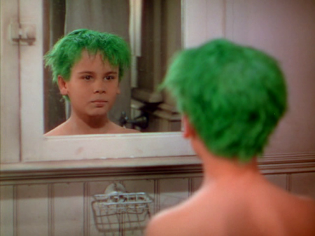the boy with green hair 3