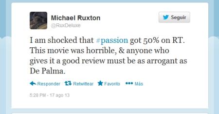 Passion tweet#1