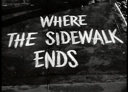 where sidewalks ends