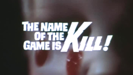 the name of the game is kill 01