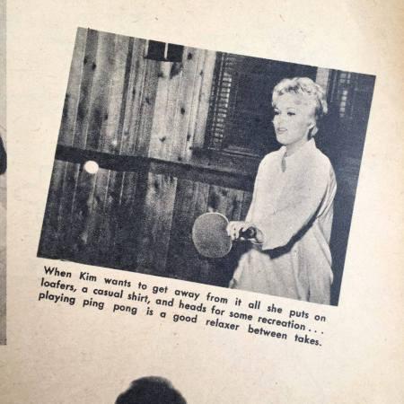 Kim novak ping pong